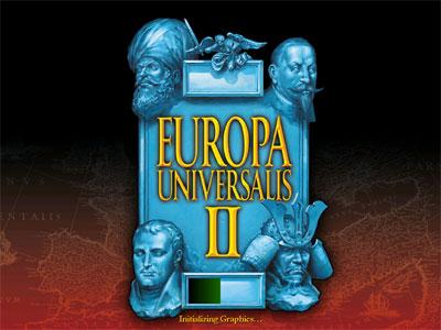 Europa Universalis 2 Startbildschirm