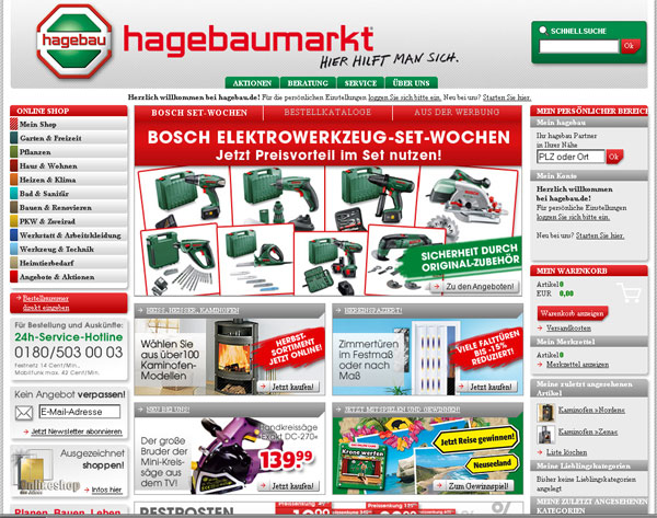 online baumarkt im test. Black Bedroom Furniture Sets. Home Design Ideas