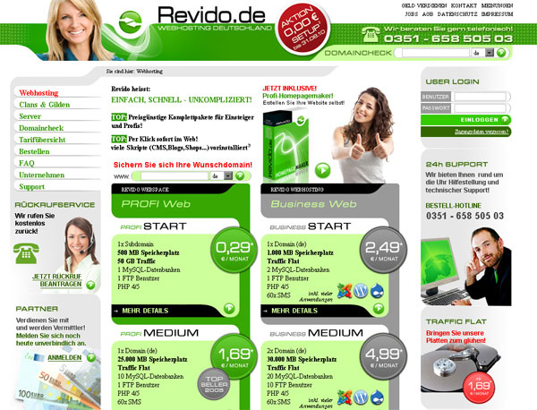 Screenshot revido.de