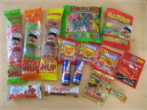 Unsere World of Sweets Bestellung