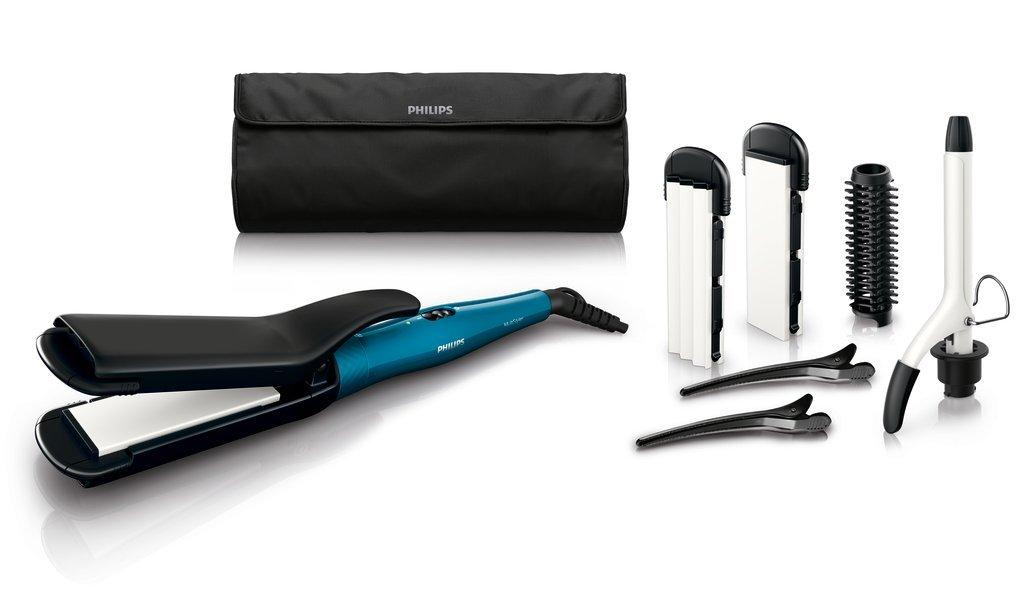 Das Philips HP 8698/00 Multi Styler-Set (6-in-1) – jederzeit die passende Frisur