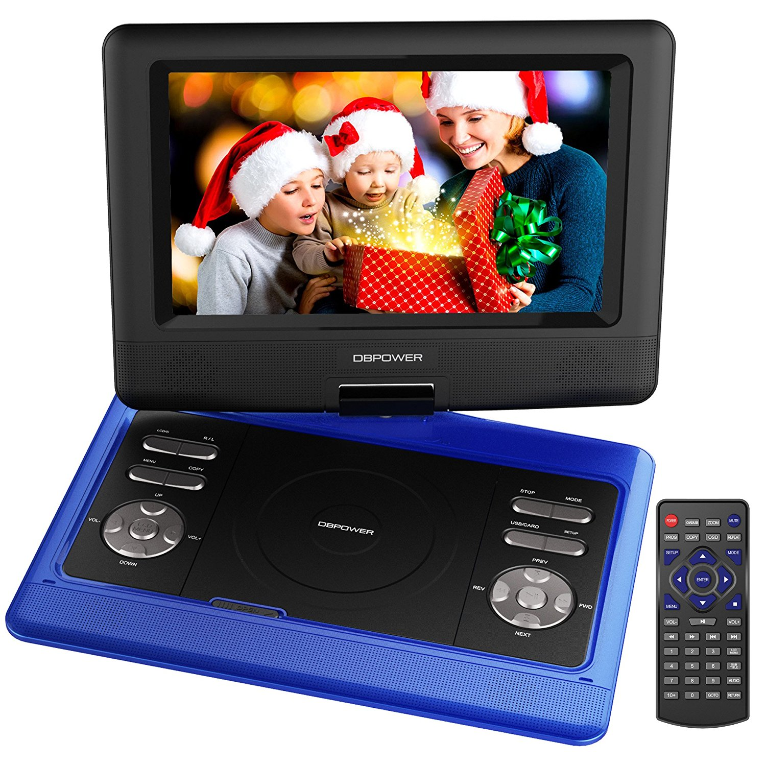 "Der ""DBPOWER 10.5 Tragbarer DVD-Player"" – Funkloch ade!"