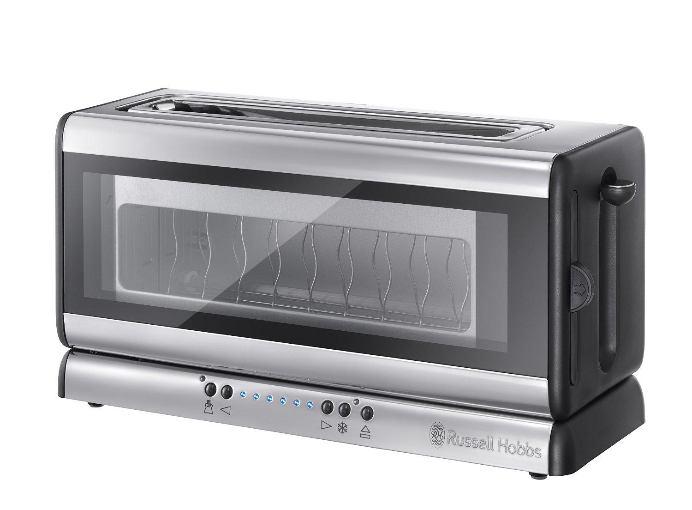 """Der """"Russell Hobbs 21310-6 Clarity Glas Toaster"""" – Durchblick für alle Frühstückfans"""