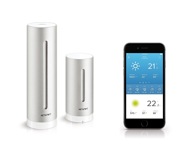 "Die ""Netatmo Wetterstation"" – Die perfekte Wetterstation für Smartphone-Junkies?"