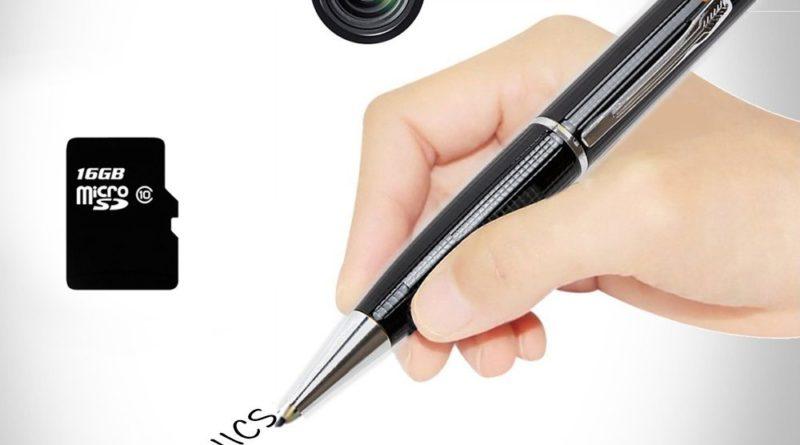 """Der """"Ctronics Spionage Kamera Kugelschreiber"""" im Test – Mit Stift und Papier auf geheimer Mission"""