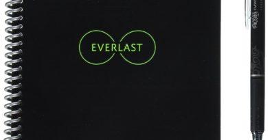 """Das """"Rocketbook Everlast Wiederverwendbares Notizbuch"""" – Vorbei die lästige Zettelwirtschaft"""