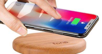 """Der """"Fonesalesman WoodPuck"""" im Test – Der energiegeladene Untersetzer für das Smartphone?"""