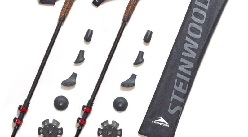 """Die """"Steinwood Premium 100% Carbon Nordic Walking Stöcke"""" – Mit Schwung jeden Berg erklimmen"""