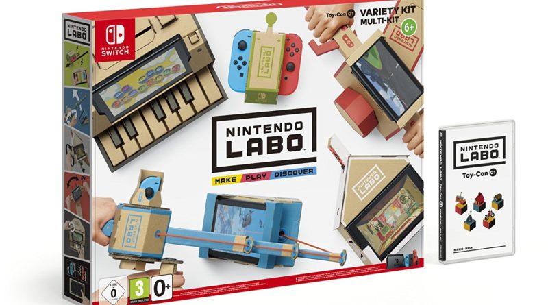 """""""Nintendo Labo: Multi-Set"""" – Das Entdeckerlabor oder nur das bessere Altpapier?"""