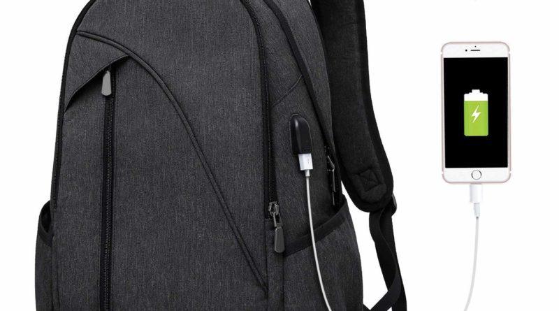 """Der """"Tocode Laptop Notebook Rucksack"""" – Laptop und Strom stets an Bord"""