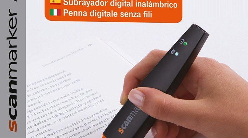 """Der """"ScanMarker Air – Bluetooth-Scannerstift"""" – Der mobile Scanner für unterwegs"""