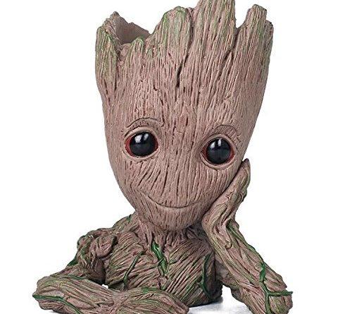 """Der """"thematys Baby Groot Blumentopf"""" im Test – Ein Marvel-Held mit Blütenfrisur"""