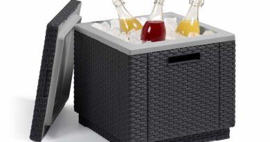 """Die """"Allibert Beistelltisch Kühlbox"""" im Test – Das kühlende Garten-Accessoire"""
